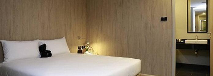 SUPERIOR ROOM 10 HOURS WITH MEAL VOUCHER Sleep Box by Miracle Bangkok