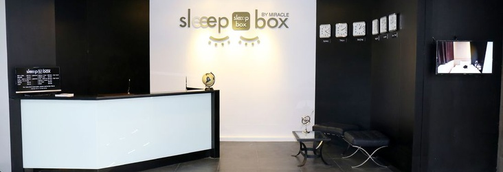 24-HOUR FRONT DESK Sleep Box by Miracle Bangkok